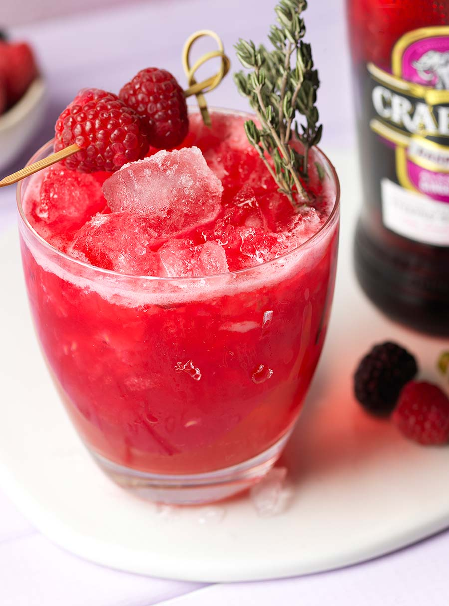 Berry and Ginger Smash