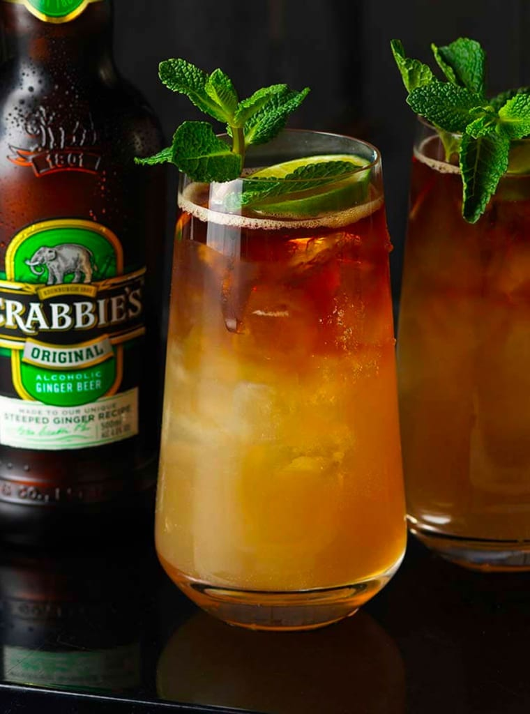 Crabbie's Dark and Stormy